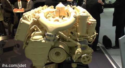 Eurosatory 201: IHS Jane's talks to Scania Engines about their military specific engines