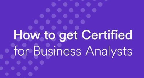 Business Analyst Certification Prep