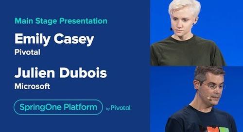 Emily Casey, Julien DuBois, Ryan Morgan, John Montgomery at SpringOne Platform 2019