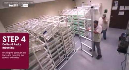 Medical Supply Storage Room Maximized & Organized