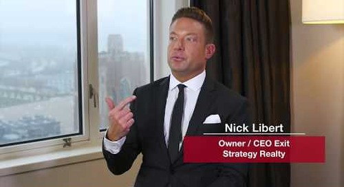 Nick Libert:  With realtor.com leads there is verified information and the properties are actually on the market