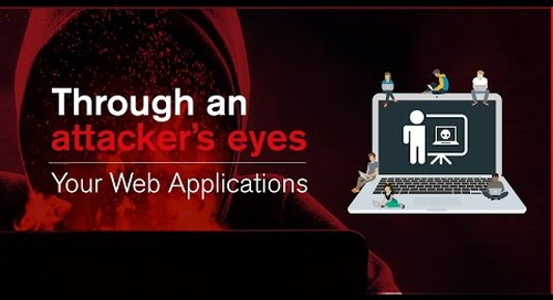 Through an Attacker's Eyes: Your Web Applications