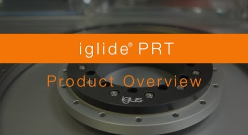 Overview - iglide® PRT Slewing Ring Bearings