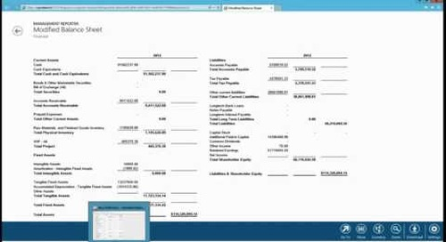 Dynamics AX 2012 Management Reporter - Display Dashes for Zeros