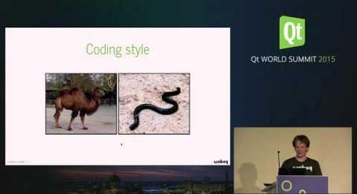 QtWS15- using namespace std; , Olivier Goffart, Woboq GmbH