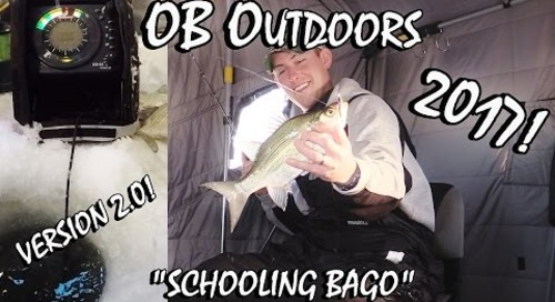 "CRAZY Lake Winnebago Ice Fishing - ""Schooling Bago"" v2.0"