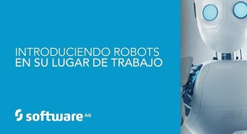 Demo: Introduciendo Robots en su lugar de trabajo