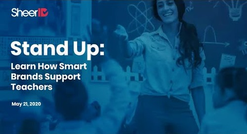 Stand Up: Learn How Smart Brands Support Teachers