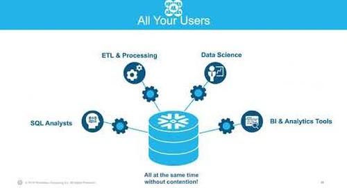Cloud Analytics World Tour Wrap-up Webinar