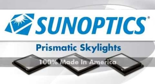 Sunoptics The Advantages of Prismatic Skylights