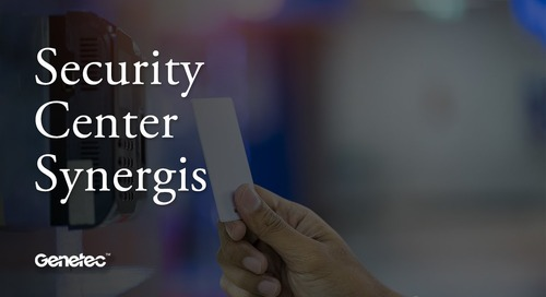 Assured access. Complete control. Synergis IP access control system