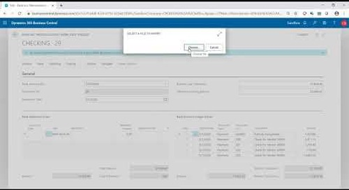 Bank Reconciliations in Dynamics 365 Business Central | Western Computer