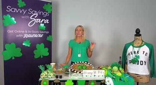 Savvy Savings with Sara | St Patrick's Day Edition