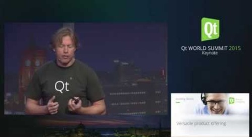 QtWS15- Qt Today and Tomorrow- The Building Blocks and Path to the Future, Lars Knoll, Keynote