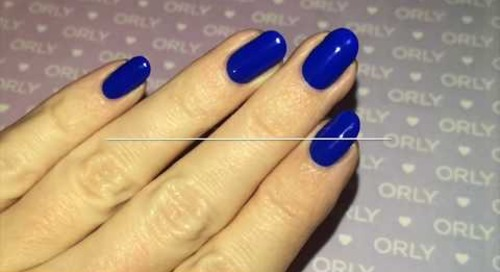 ORLY Lacquer Application How-To