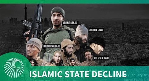 Islamic State Decline: European Terrorism Outlook