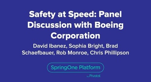 Safety at Speed: Panel Discussion with Boeing Corporation