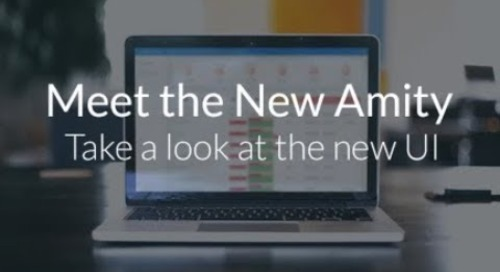 Amity New UI Product Tour
