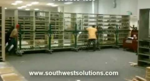 Relocating Fully Loaded Book Ranges | Library Shelving Movers | Moving Book Shelves