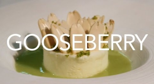 The one-word menu: 'Gooseberry' from Restaurant Kitchen Table