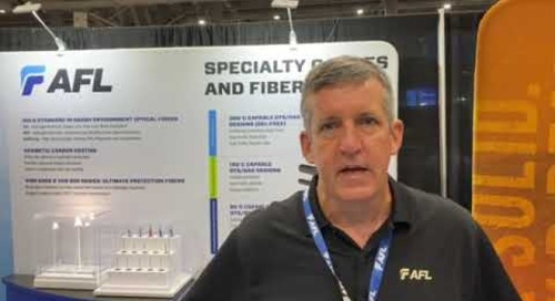 Sean talking Specialty Cable at OTC 2021