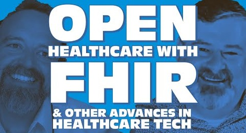 Tanzu Talk: Opening up healthcare with FHIR & other healthcare innovations