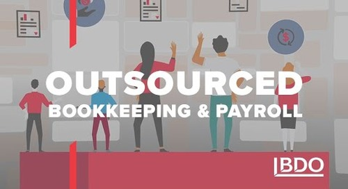 Outsourced bookkeeping and payroll services