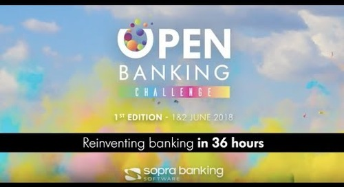 OBC 2018 - First Open Banking Challenge by Sopra Banking Software