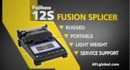AFL Presents the Fujikura 12S Fusion Splicer