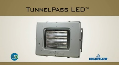 TunnelPass LED Luminaire for Tunnels & Underpasses