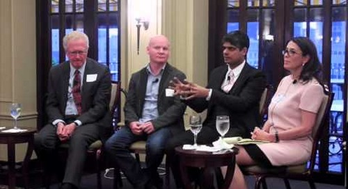 Business Talent Group panel on disruption