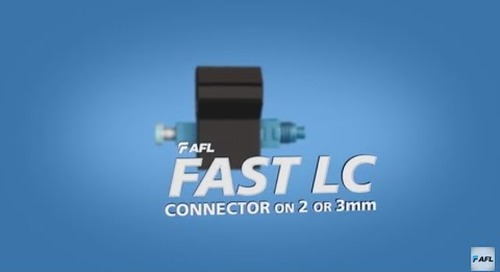 FASTConnect® LC connector instructions for 2 or 3mm cable