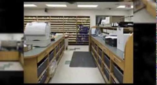 Pharmacy Shelving Cabinets Furniture Casework Ph 1-800-803-1083