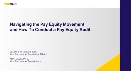 Navigating the Pay Equity Movement How To Conduct a Pay Equity Audit - Trusaic