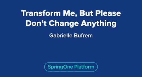 Transform Me, But Please Don't Change Anything
