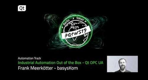Qt OPC UA: Machine to machine communication, data modelling & more