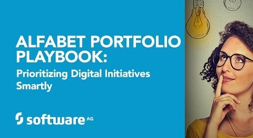 Alfabet Playbook: Prioritizing Digital Initiatives Smartly