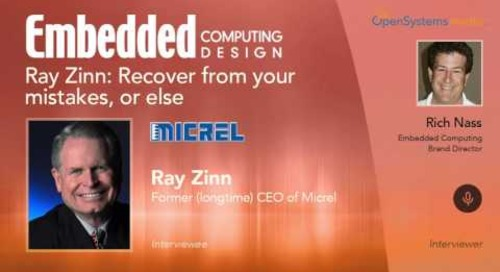 Ray Zinn: Recover from your mistakes, or else
