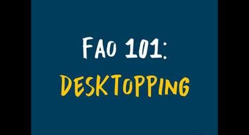 Desktopping - Business Term Definition | FAO 101