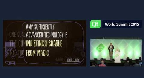 Magical UX and the Internet of Things by Josh Clark, Big Medium at QtWS16