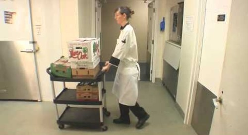 Handling Large Bags or Boxes of Produce