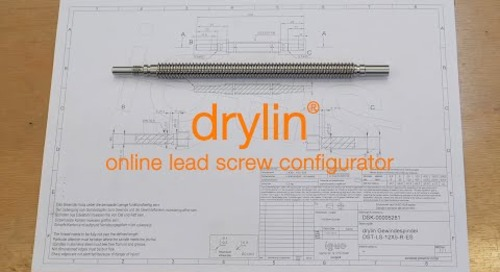 Walk-through - How to design custom lead screws in 20 minutes or less