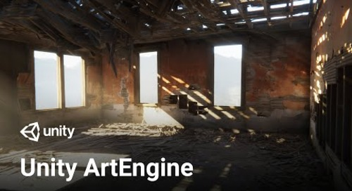 AI-assisted artistry with Unity ArtEngine