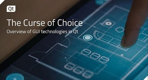 The Curse of Choice  An overview of GUI technologies in Qt {on-demand webinar}