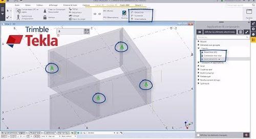 Astuce Tekla Structures :   connexion béton