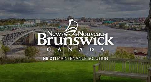 New Brunswick DTI - Field Maintenance Survey