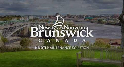 New Brunswick DTI - Field Maintenance Survey