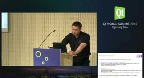 QtWS15- Lightning Talk, Declarative Retranslations in QML, Vladimir Moolle, ICS