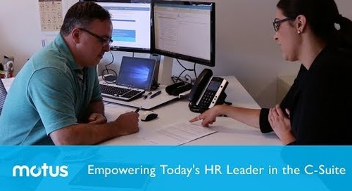 Empowering Today's HR Leader in the C-Suite