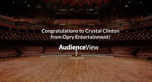 Congratulations to Crystal Clinton from Opry Entertainment